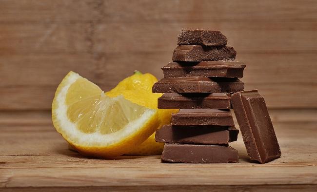 Cytryna, czekolada