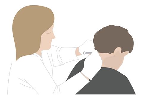 Zabieg ostrzykiwania karku toksyną botulinową