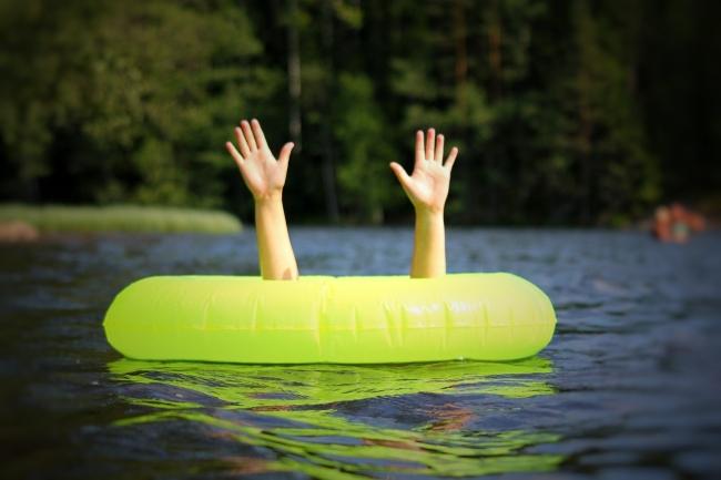 Kąpiel nad wodą