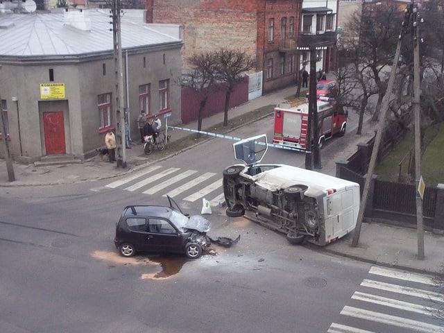 wypadek samochodowy, car crush