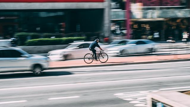 rower wmieście