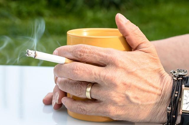 ryzyko plaenia papierosów