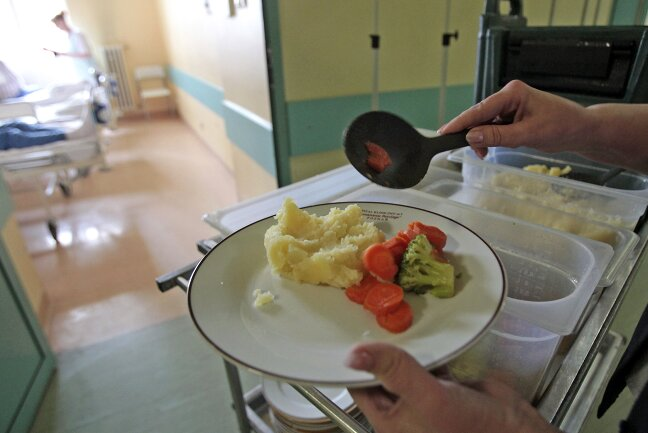 jedzenie wszpitalu