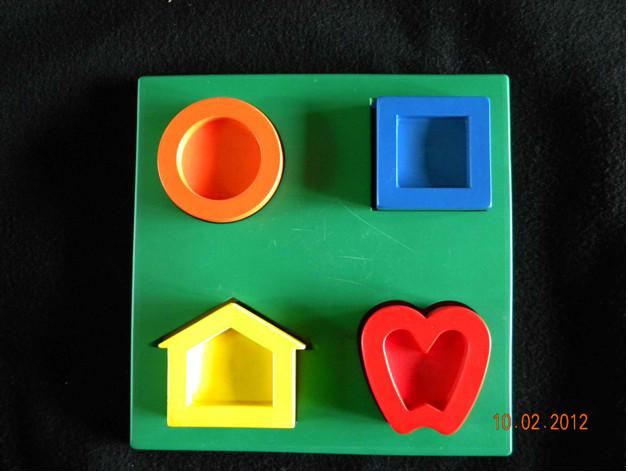 Symbole Lea – puzzle 3D