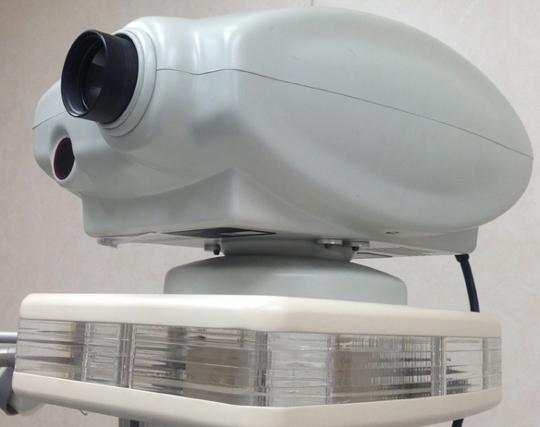 Rzutnik do badania ostrości wzroku