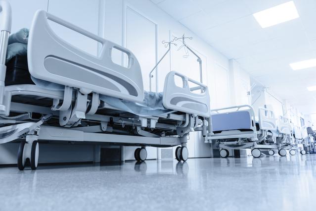 szpital łóżka
