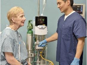 Применение высокопоточной назальной оксигенотерапии на практике. Клинический случай
