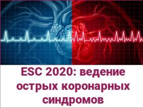 Ведение острых коронарных синдромов без элевации сегмента ST. Диагностика. Стратификация риска. Краткое изложение рекомендаций Европейского общества кардиологов 2020