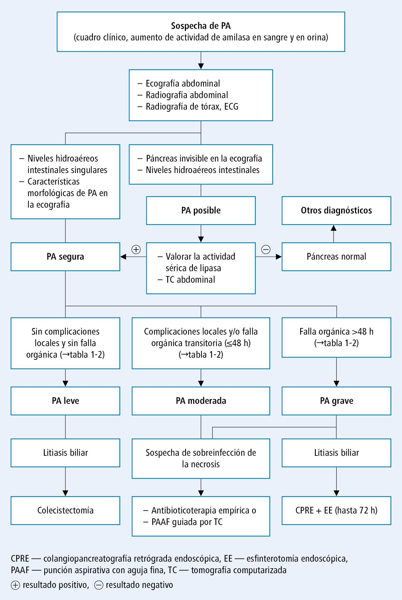 Pancreatitis aguda - Enfermedades del páncreas - Enfermedades ...
