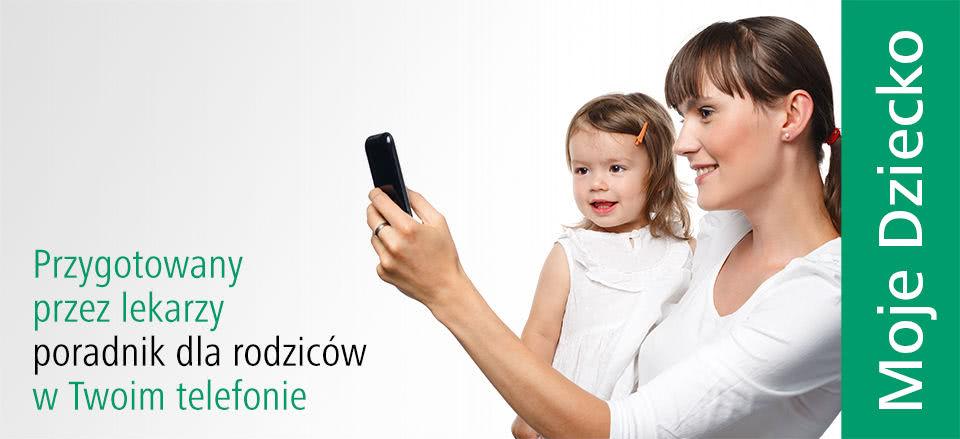 Przygotowany przez lekarzy poradnik dla rodziców wTwoim telefonie
