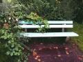 Dwaj górnicy zbudowali ławkę mierzącą smog