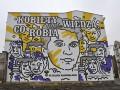 Katowice - mural upamiętniający lekarkę