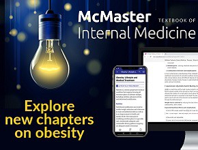 Obesity in the McMaster Textbook of Internal Medicine