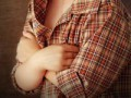 Ból wklatce piersiowej udziecka