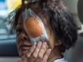 Zaopatrywanie urazu gałki ocznej