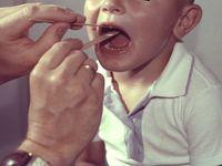 Ból gardła udziecka